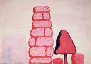 Philip Guston - Sans titre Applique murale