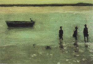 Philip Wilson Steer - Beach à Etaples