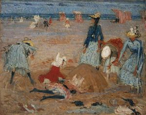 Philip Wilson Steer - Boulogne Sands