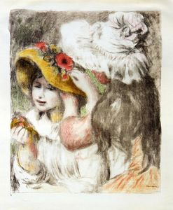 Pierre-Auguste Renoir - L Épingle à chapeau