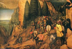 Pieter Bruegel The Elder - Conversion of r . Paul