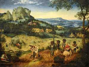 Pieter Bruegel The Elder - Fenaison