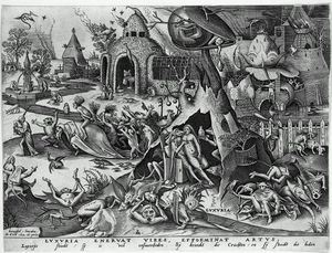 Pieter Bruegel The Elder - Luxure