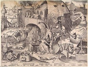 Pieter Bruegel The Elder - Envie