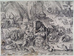 Pieter Bruegel The Elder - Avidité