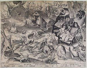 Pieter Bruegel The Elder - Paresse