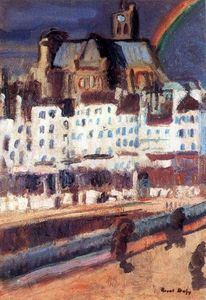 Raoul Dufy - le saint Gervais Church