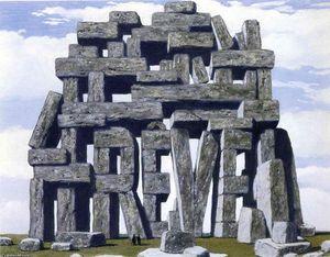 G. Magritte -  L'assassin menacé (L'assassino minacciato) - 1927