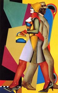 Richard Lindner - Moon Over Alabama