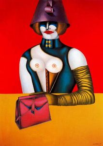 Richard Lindner - Ouest 48th De rue