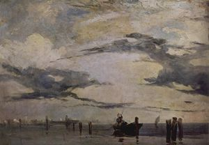 Richard Parkes Bonington - La côte Adriatique