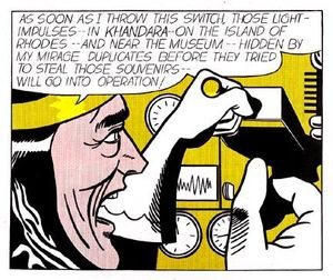 Roy Lichtenstein - scientifique fou