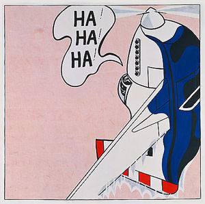 Roy Lichtenstein - Des munitions réelles ( Ha ! Ha ! Ha ! )
