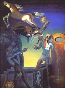 Salvador Dali - Guillaume Tell