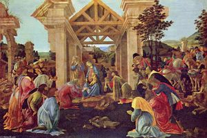 Sandro Botticelli - Adoration des Mages