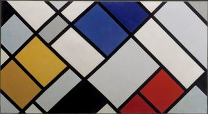 Theo Van Doesburg - Contra-Composition des Dissonances, XVI