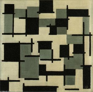 Theo Van Doesburg - La composition XIII