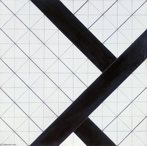 Theo Van Doesburg - composition Counter VI