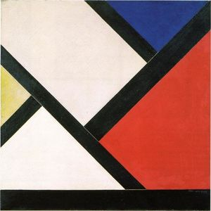Theo Van Doesburg - composition Counter XIV