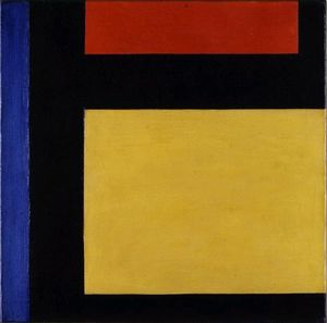 Theo Van Doesburg - composition Counter X