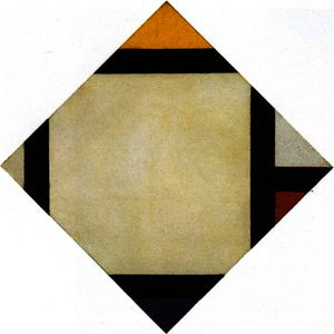 Theo Van Doesburg - composition Counter VII