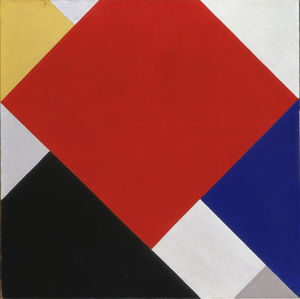 Theo Van Doesburg - composition Counter V