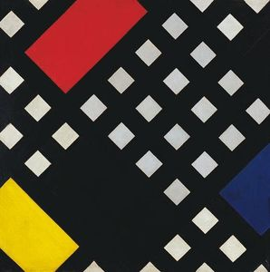 Theo Van Doesburg - composition Counter XV