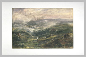 Theodore Robinson - Paysage d Auvergne