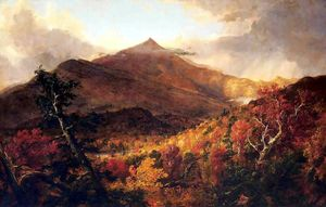 Thomas Cole - Schroon Montagne, Adirondacks