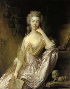 Thomas Gainsborough - Portrait de Mme Drummond