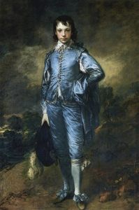 Thomas Gainsborough - Le Boy Blue (Portrait de l Jonathan Buttall)