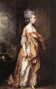 Thomas Gainsborough - Mme Grace Elliott D.
