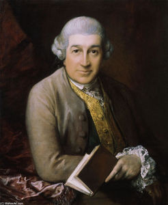 Thomas Gainsborough - Portrait de David Garrick
