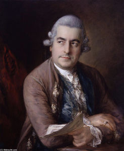 Thomas Gainsborough - Portrait de Johann Christian Bach