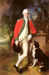 Thomas Gainsborough - Portrait du colonel John Bullock