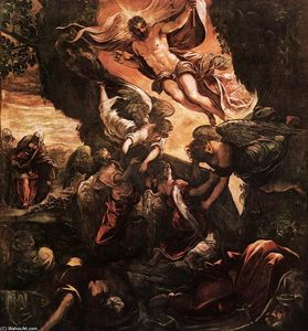 Tintoretto (Jacopo Comin) - le résurrection du christ