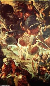 Tintoretto (Jacopo Comin) - Ascension du Christ