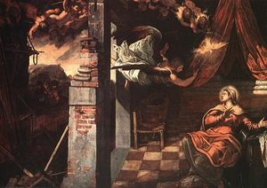 Tintoretto (Jacopo Comin) - Annonciation