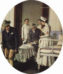 Vasily Vasilevich Vereshchagin - À l hôpital