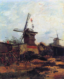 Vincent Van Gogh - le moulin of Blute Fin