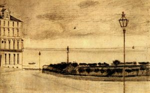 Vincent Van Gogh - Vue of Royal Route , Ramsgate