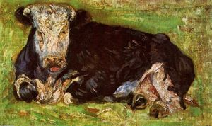 Vincent Van Gogh - Allongé Cow