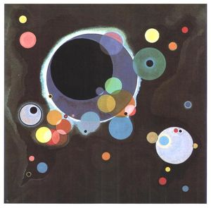 Wassily Kandinsky - Plusieurs cercles
