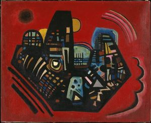 Wassily Kandinsky - noire rouges