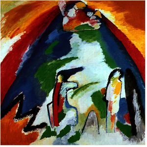Wassily Kandinsky - une montagne