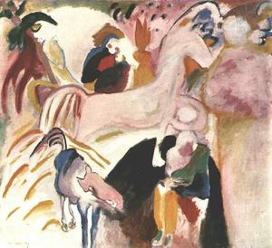 Wassily Kandinsky - les chevaux