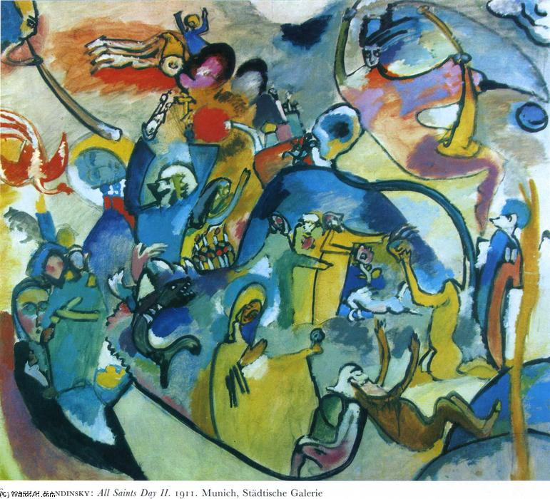 Composition V 1911 By Wassily Kandinsky Art Reproduction