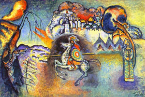 Wassily Kandinsky - St . George et le dragon