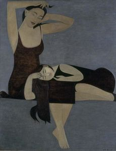 Will Barnet - dormir enfant