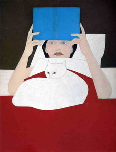 Will Barnet - femme lecture